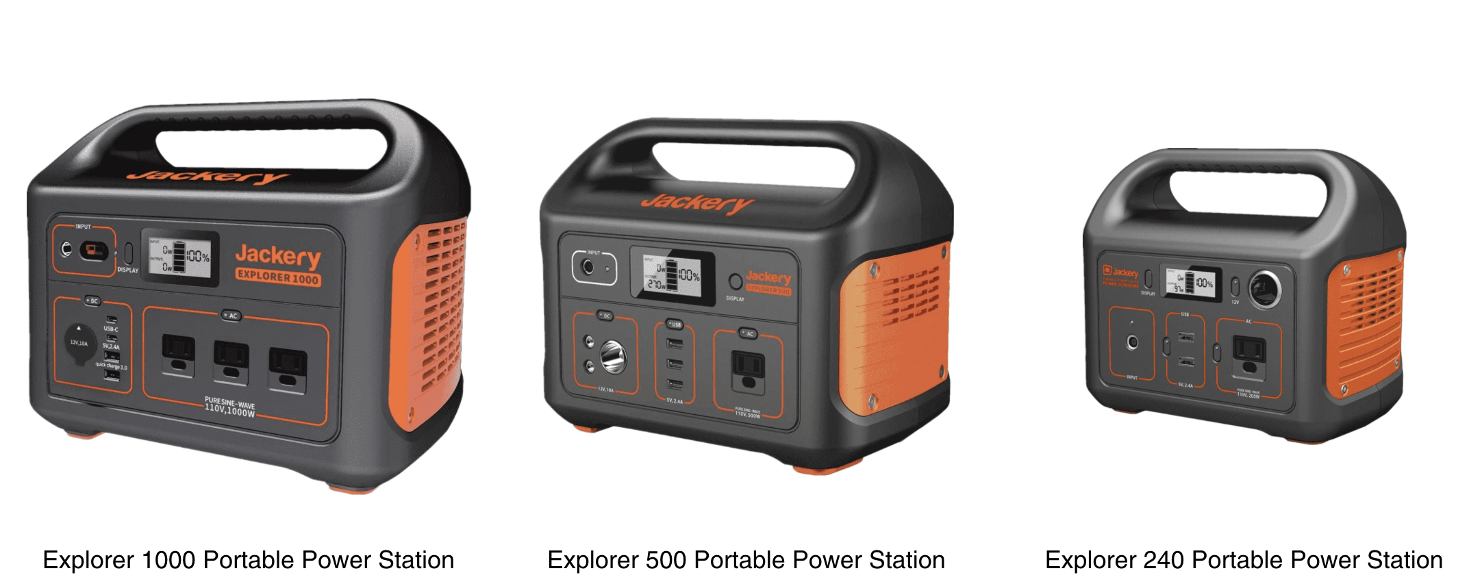 The Explorer Series of Portable Power Stations