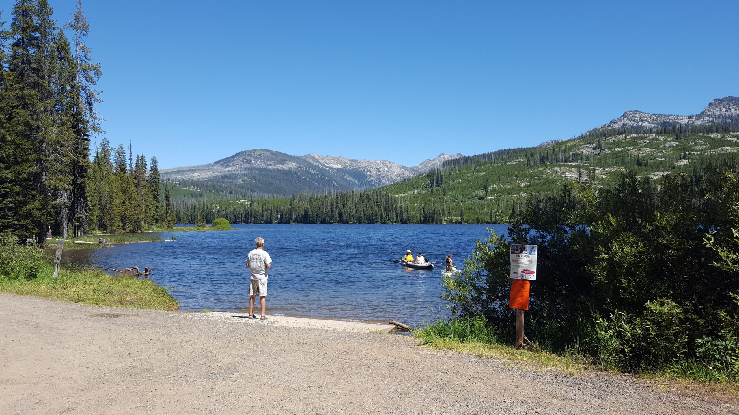 Idaho campgrounds