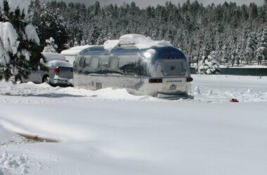 RV in Winter