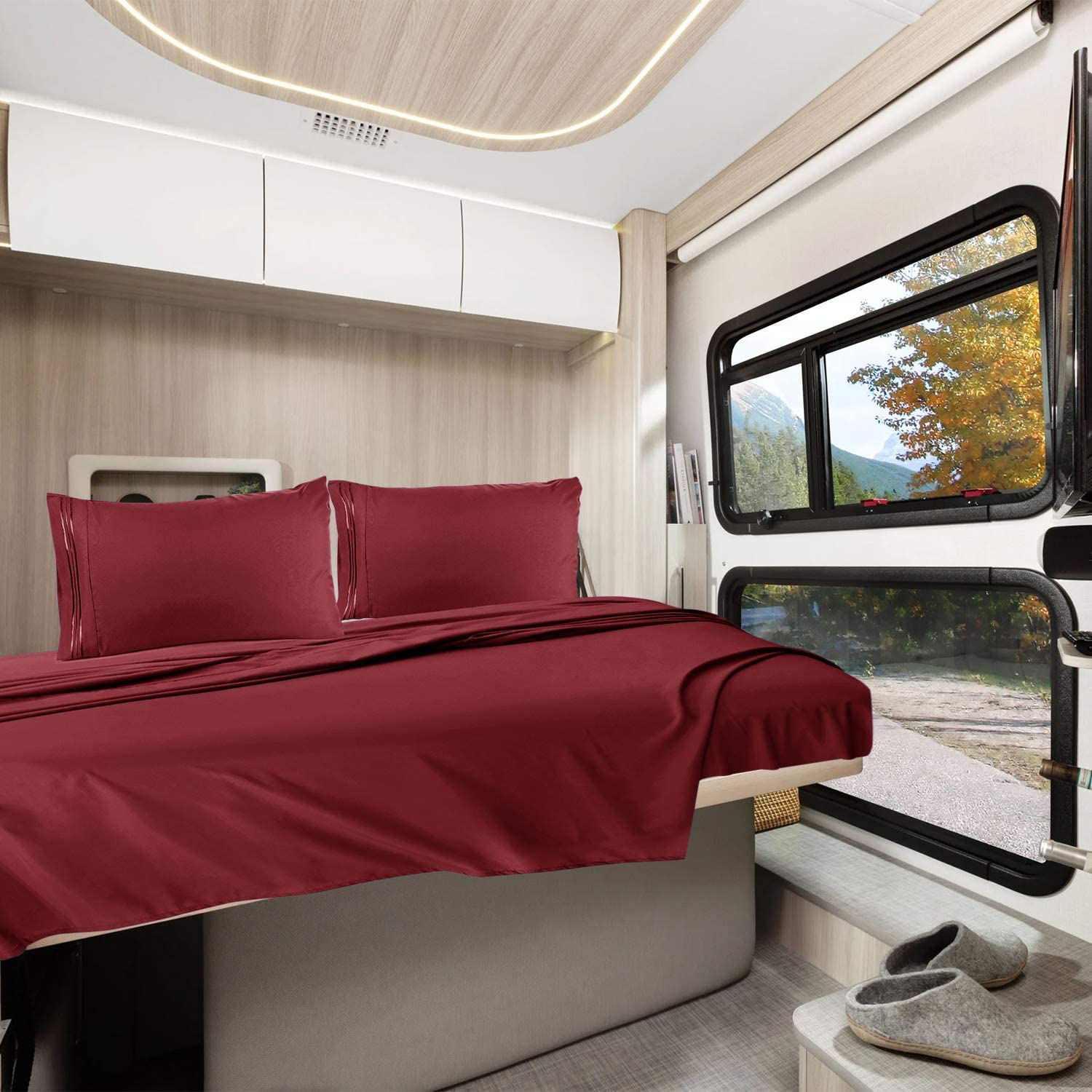 RV bed sheets