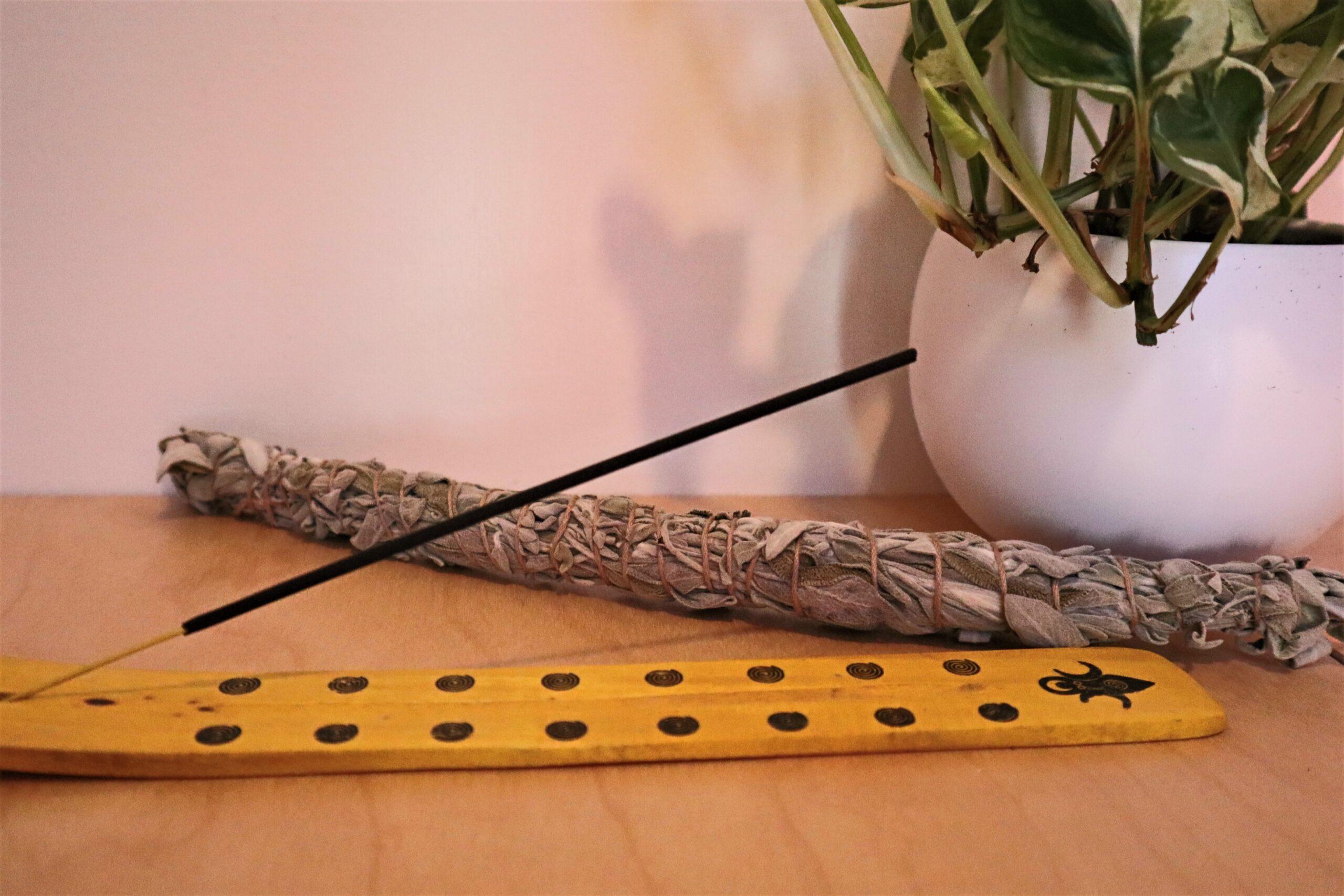 Natural air freshener - incense!