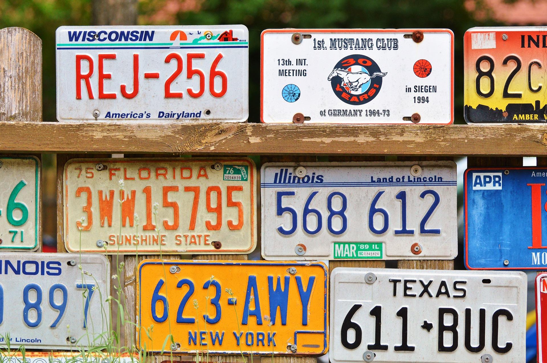 US License Plate Mottos