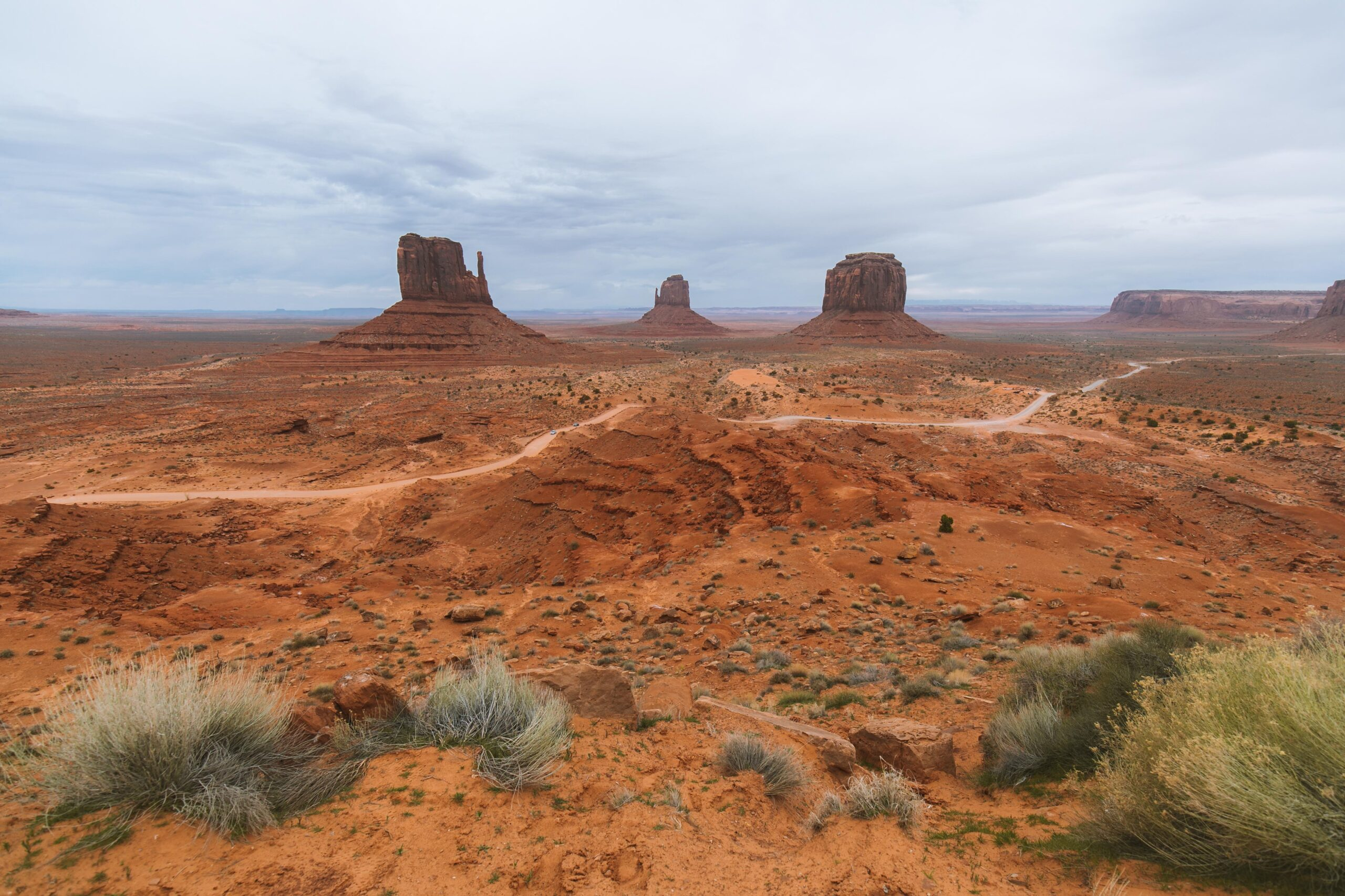 Boondocking in Monument Valley, Arizona
