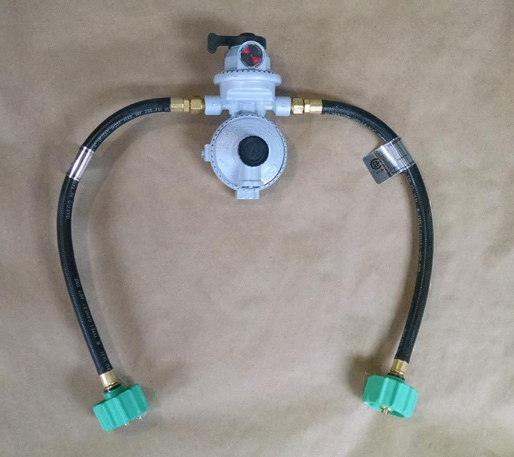 RV propane regulator