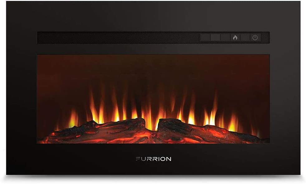 RV fireplace - RV-FF30SW15A-BL