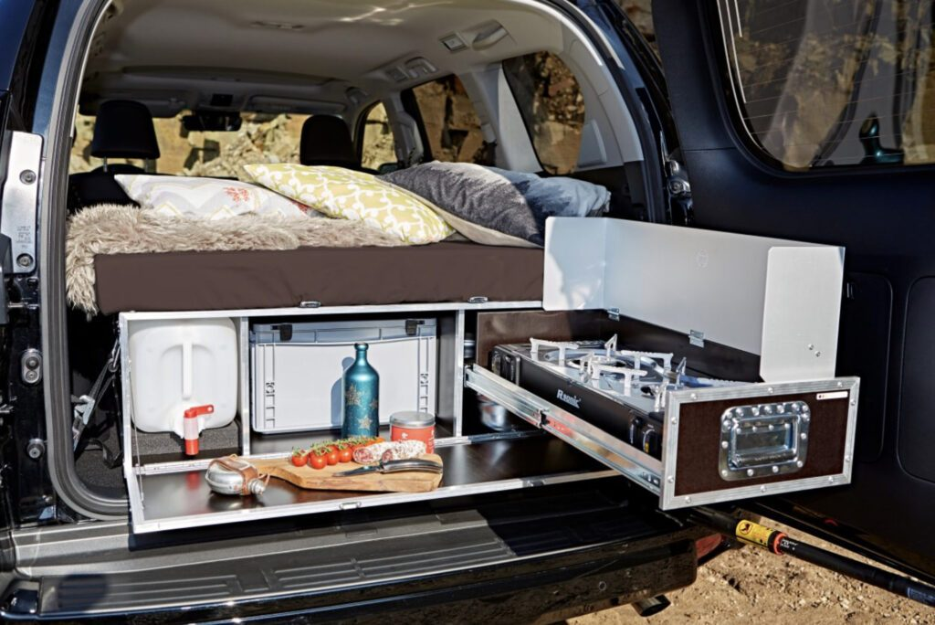 SUV Camper Conversion without SUV Tent