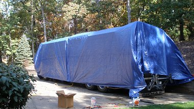 Metal RV Covers