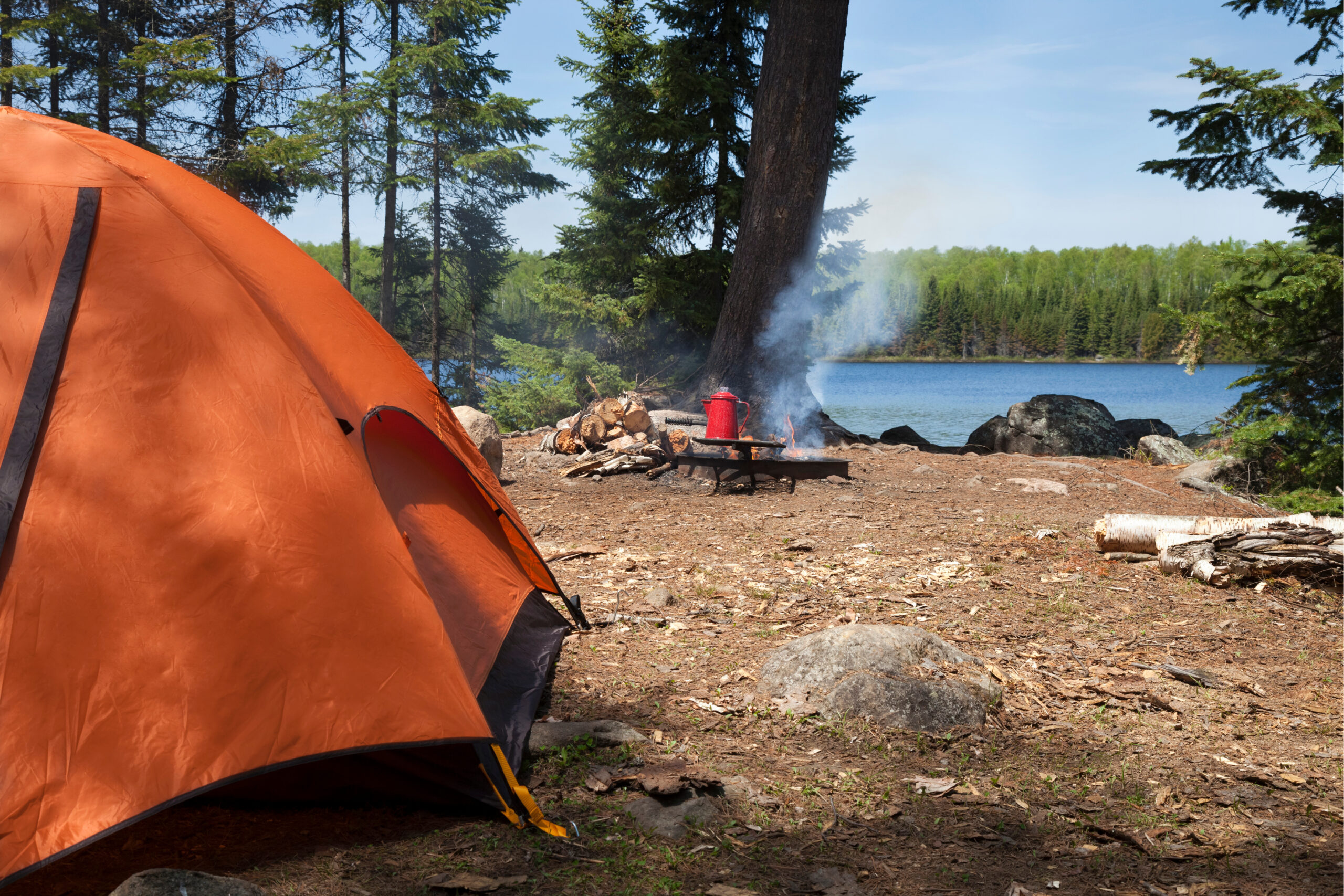 Keep your campsite clean