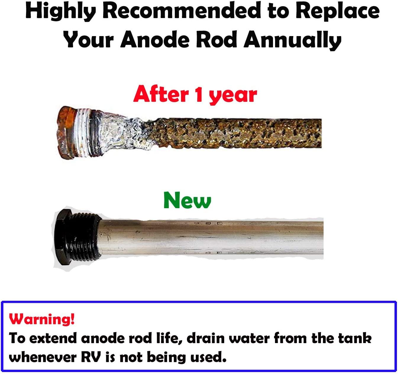 RV hot water heater