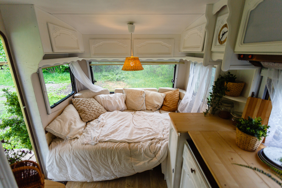 beautiful completed remodel - camper remodel