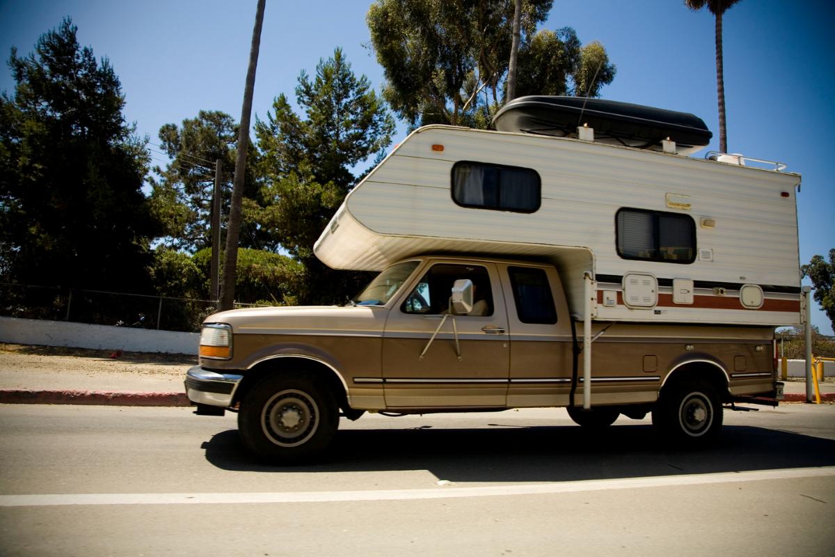 DIY truck campers
