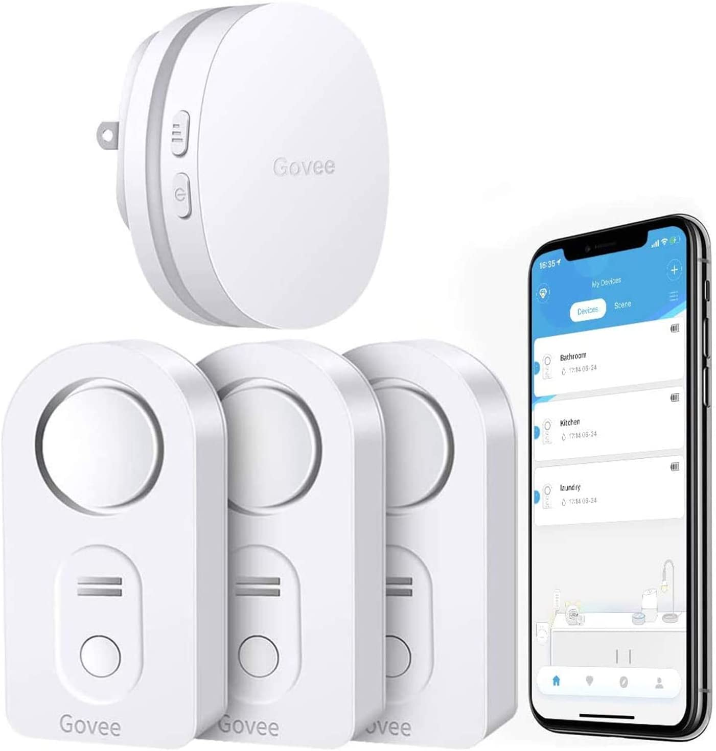 RV water alarms sensor