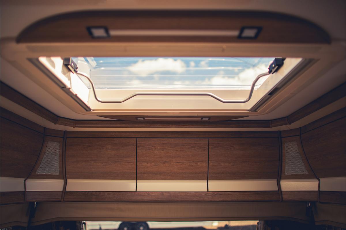 RV skylight