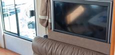 TV mounted inside RV