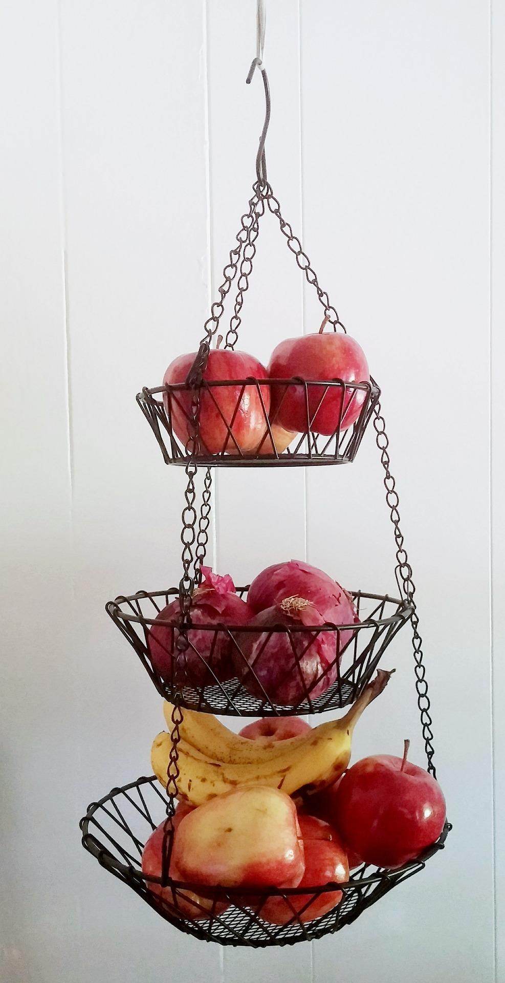 Hanging Fruit Basket