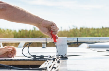 DIY RV rubber roof replacement