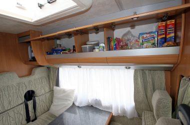 RV pantry in a motorhome