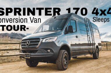 Sprinter van conversions with video tour
