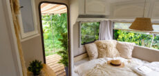 camper decor ideas - renovated interior