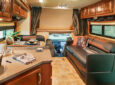 RV interior space with storage