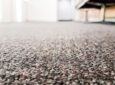 closeup of carpet looking fresh with a DIY carpet cleaner