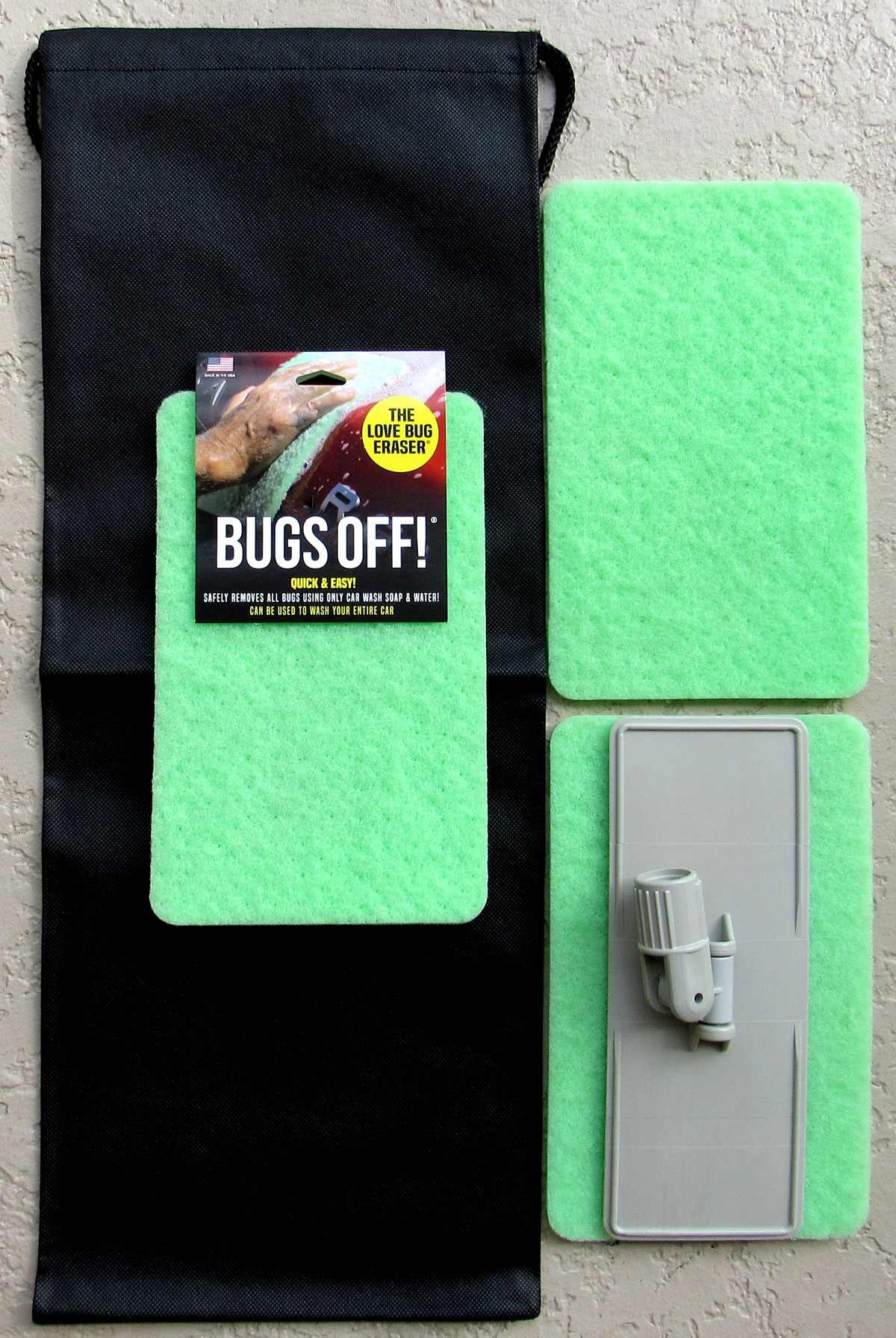 Bugs Off Pads Easy Reach Kit Stock Photo