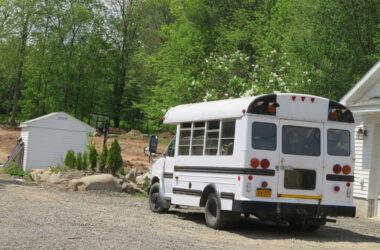 school bus camper