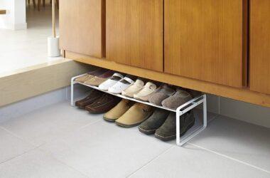 DIY shoe rack ideas for an RV
