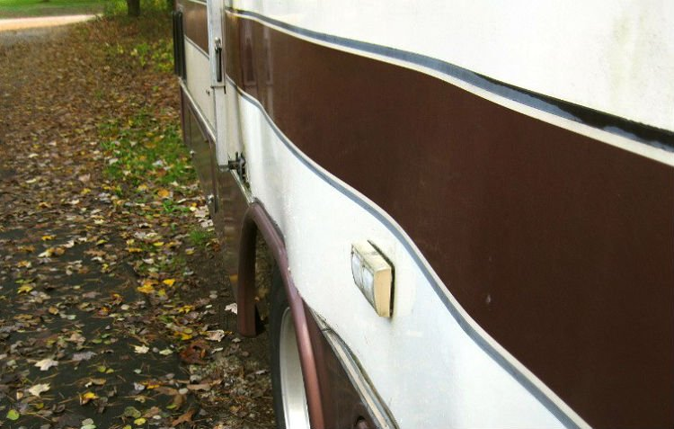 Delamination of an RV exterior wall - what is the average rv delamination repair cost?