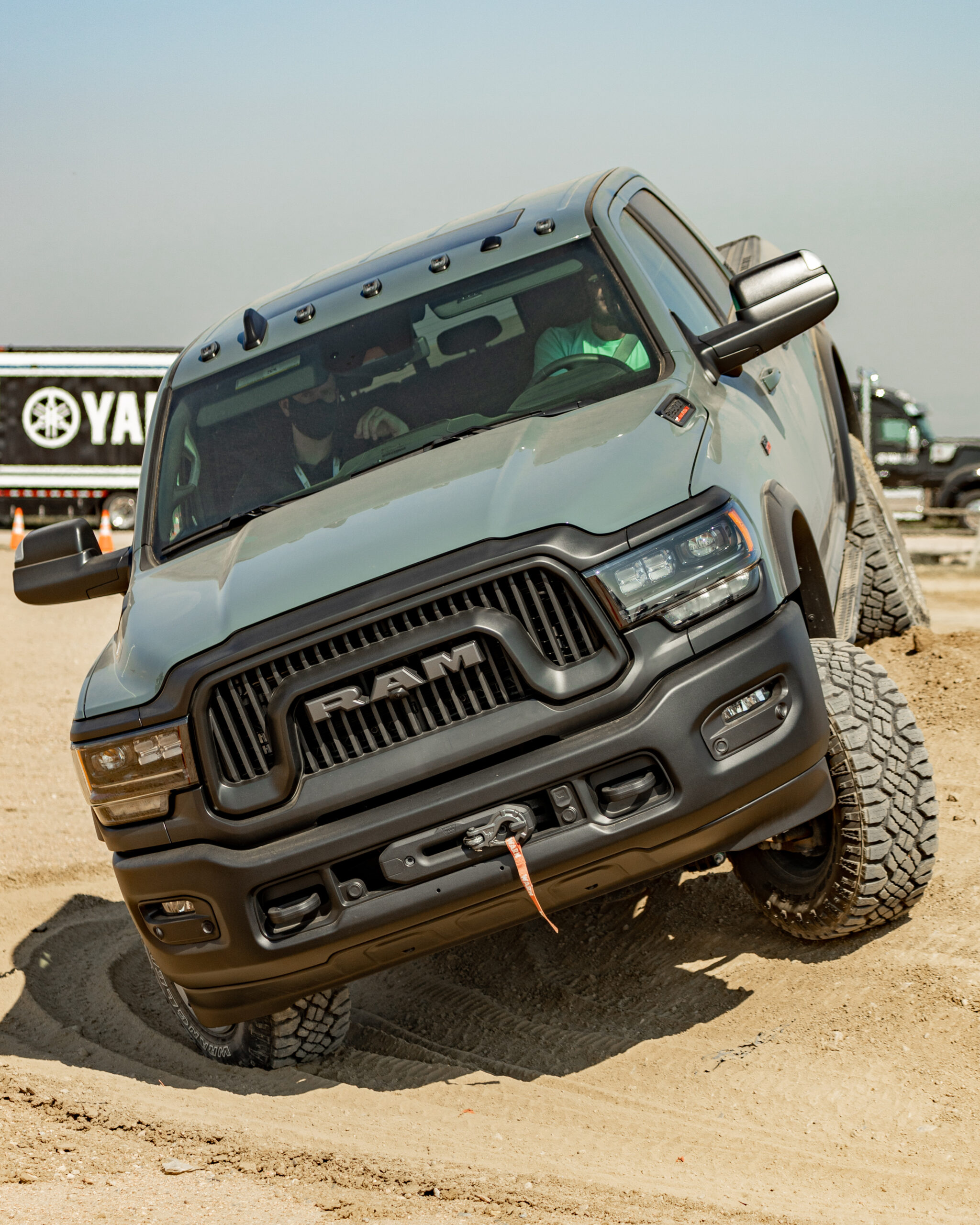truck at Overland Expo