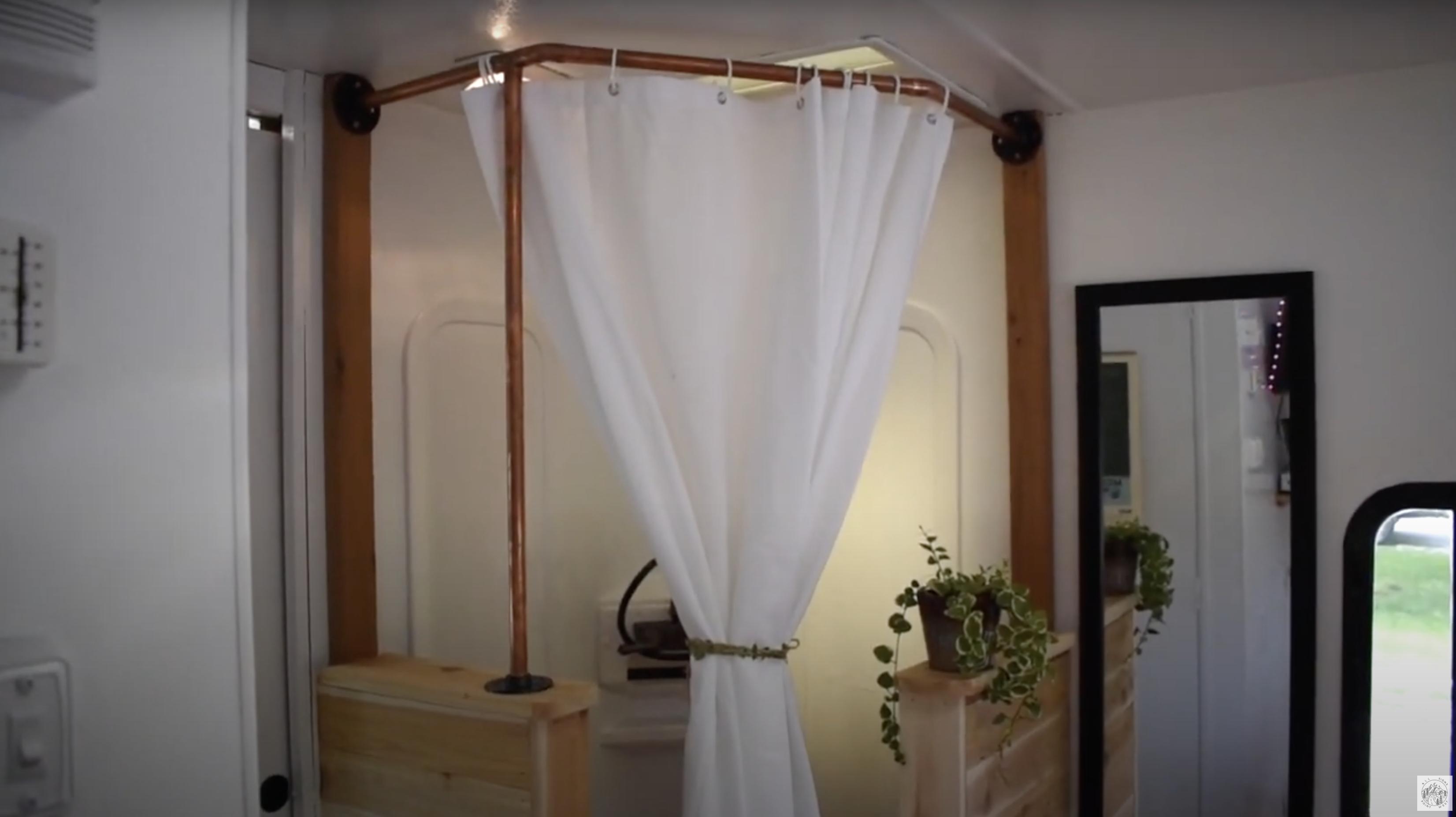 best RV bathroom design with shower