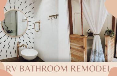 RV bathroom design cover photo from YouTube