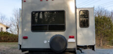 RV slideout from rear - RV slideout maintenance